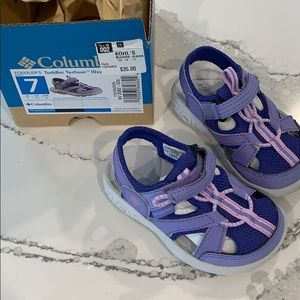 Toddler Columbia sandals ***NWB